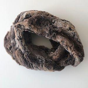 Faux Fur Infinity Scarf by Ann Taylor Loft